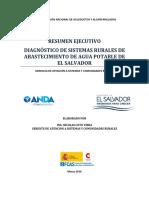 Resumen Ejecutivo Diagnsotico de Sistemas Rurales El Salvador