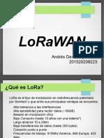Protocolo LoRaWAN