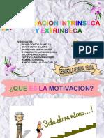 Motivacion Intrinseca y Extrinseca Exposicion