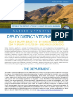 2019 DDA III or IV Job Bulletin for CDAA 4