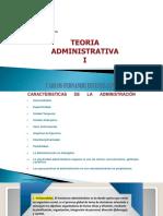 6- Caracteristicas de La Administración