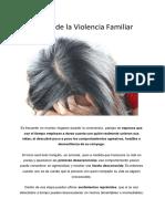 Ciclo de Violencia Familiar