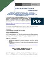 Comunicado N 0003-2017-EF-50 01_Resultados 31Dic2016