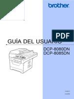 Guía del usuario brother dcp-8080dn