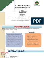 Hipertensi Emergency