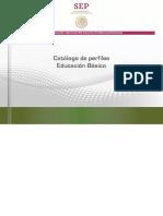 Catálogo de Perfiles Educacion Basica