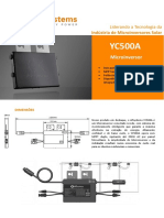 4300101202 PT-BR APsystems YC500A for Brazil Datasheet Rev1.0 2016-06-12