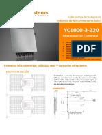 4300301202_PT-BR_APsystems YC1000-3-220 For Brazil Datasheet_Rev1.0_2016-06-15