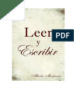 Leer y Escribir- Alberto Masferrer