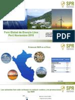 foro Global de energía