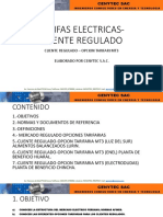 TARIFAS ELECTRICAS- CLIENTE REGULADO.pptx