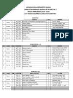 Jadwal Kuliah Ganjil Iat 2019-2020 Super Fixs-1