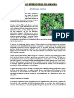 Calidad Nutricional de Alfalfa