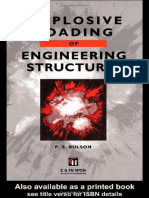 Explosive Loading of Engineering Structures_ P S Bulson, 1997