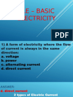 Tle –Electrical
