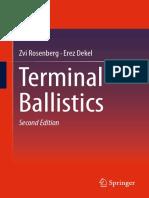 Terminal Ballistics _ Z Rosenberg 2nd Ed, 2016