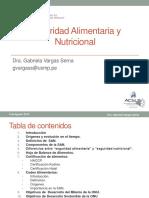 1-PRIMERA CLASE- SAN- Seguridad Alimentaria y Nutricional-2019
