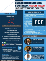 Doppler and 3D Ultrasound in Obstetrics and Gynecology - December 05 - 07, 2019