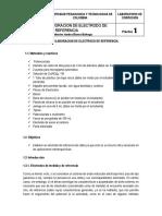 Guía 1. Elaboracion de Electrodo de Referencia