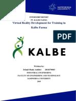 VR Development in Kalbe Farma