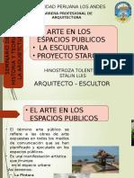 arte en espacios publicos- seminario