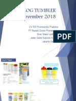Bagi 'Katalog Tumbler RG Promosindo Pratama & PT Rezeki Grosir Promosindo 2018.PDF'