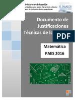 Justificaciones Matemática PAES 2016.pdf