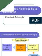 Fundamentos de La Psicoterapia Historia