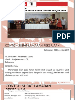 1 Ppt Surat Lamaran Pekerjaan Blog Zuhri Indonesia Xii Pptx