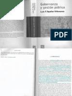 1.Gobernanza y Gestión Pública. Luis F.aguilar