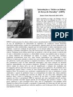 Introdução sobre as linhas de força de Faraday