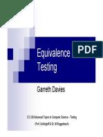 20061201 Davies Equivalence Class Testing