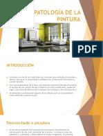 Patología en La Pintura .