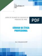 Codigo Etica Profesional Ica 2007