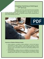 An Overview of Desktop Publishing