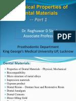 Mechanical properties DM