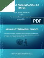 Medios de Comunicación de Datos- Javier Tamayo Hernández