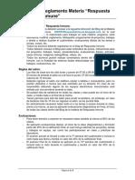 Reglamento Respuesta Inmune 20-1
