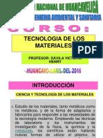 La Tecnologia de Los Materiales