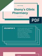 St. Anthony's Clinic Pharmacy - Kelompok 9
