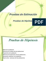 Pruebas de Hipotesis(2018)