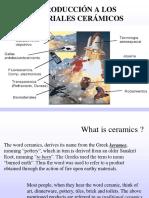 Introducción Materiales Cerámicos