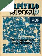 Capitulo_Oriental_30 El Humorismo y La Cronica
