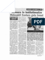 Peoples Tonight, Sept. 19, 2019, Measure to institutionalize Malasakit Centers gets boost.pdf