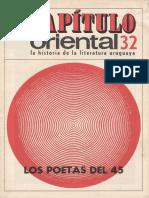 Capitulo_Oriental_32 Los Poetas Del 45