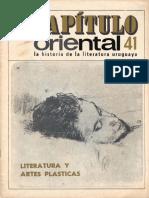 Capitulo Oriental Nro 41 Literatura y artes plásticas