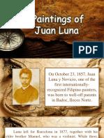 Paintings of Juan Luna
