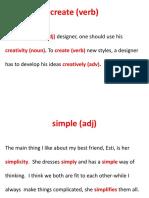 Word Buidling