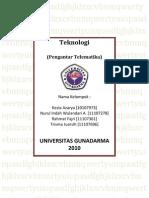 Teknologi Telematika + Cover
