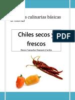 Chiles Secos y Frescos